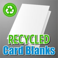 155mm Square Recycled Card Blank