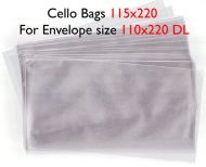50 DL Cello Bags