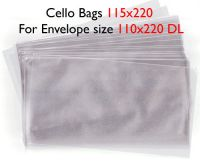 50 Slim Cello Bags