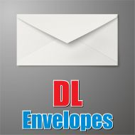 DL White Envelope